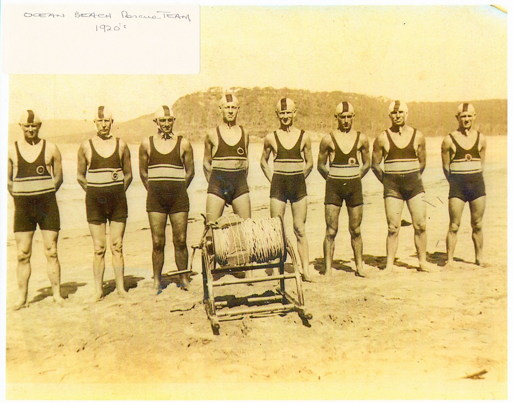 128 OB Rescue team 1920s