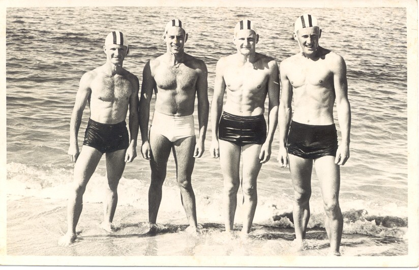 136 LJ Lemmon, P Page, R Deakes & B Lowe 1954