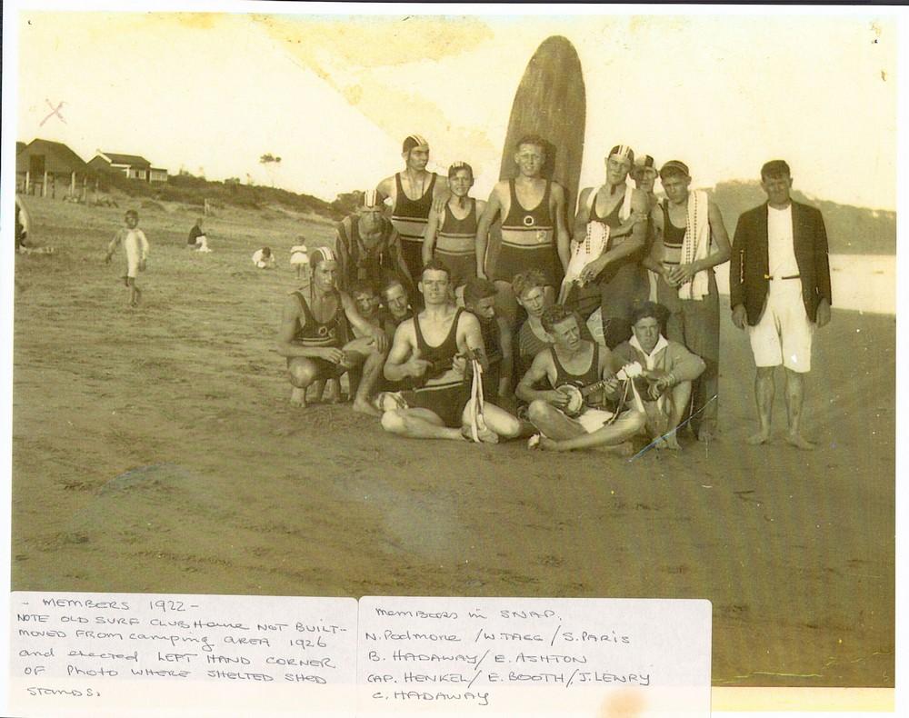 139 OB members 1922