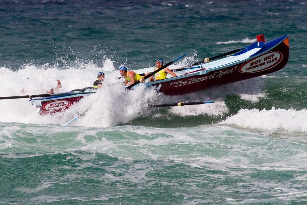 218 OB boat losing sweep
