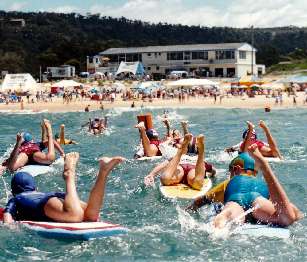 90's Jnr carnival from water