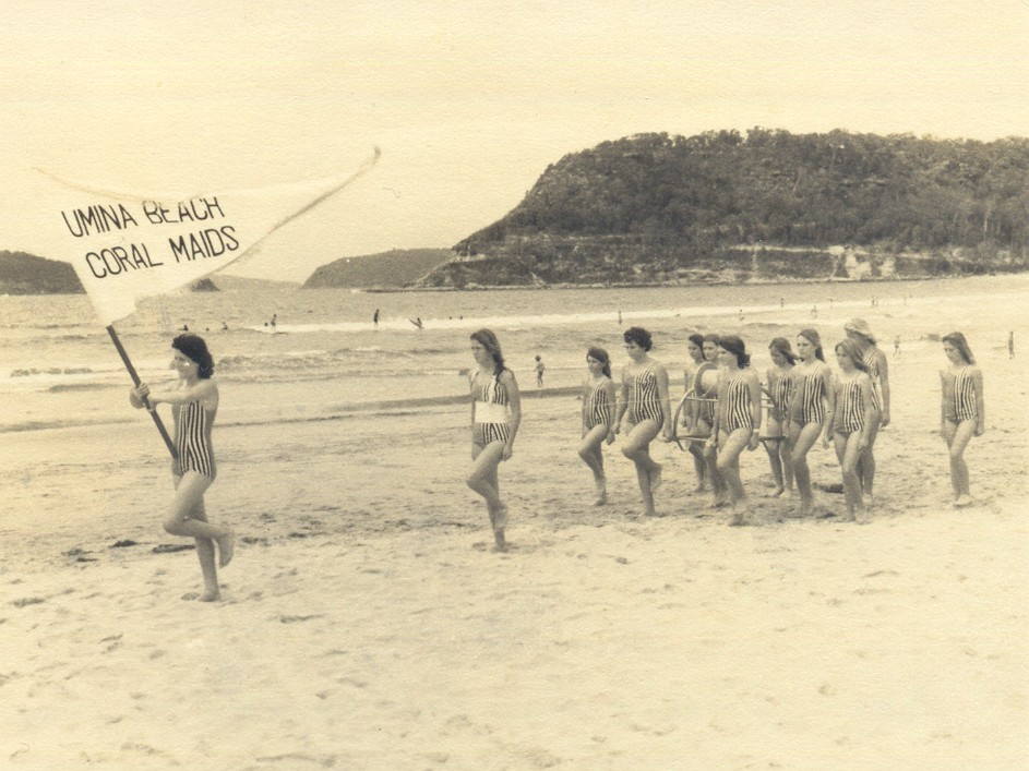 98 Umina Coral Maids march past
