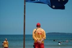 251 Aust flag & lifesaver