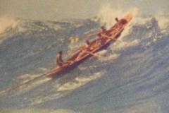 270 Avoca boat in big surf
