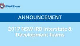 Coast IRB Athletes Named in NSW IRB Development Team