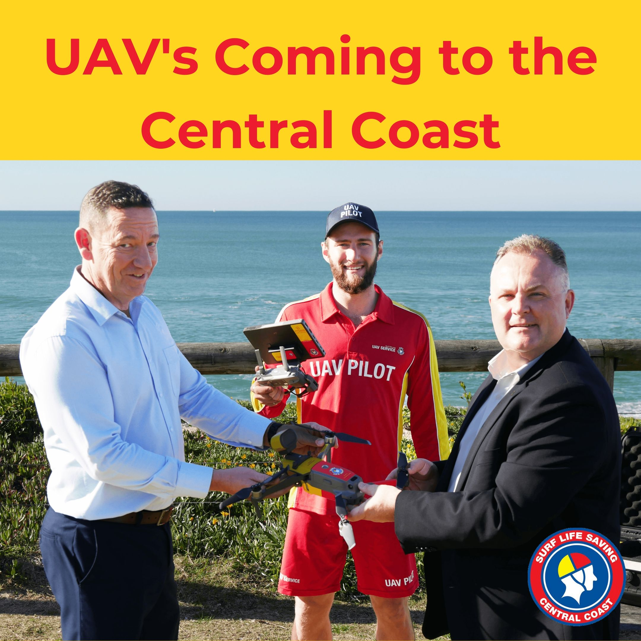 UAVs coming to the Central Coast